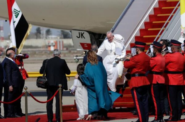 Historic visit of Pope Francis in Iraq.